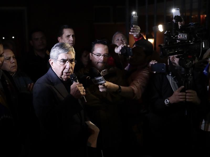 Oscar Arias, expresidente de Costa Rica.