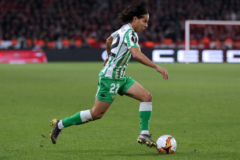 Andrés Guardado y Diego Lainez se despiden de la Europa League