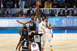 Otro Juego de Estrellas de la NBA monótono pero con 340 puntos y récord de triples
