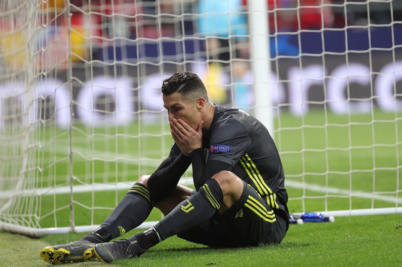 Peligra la Champions League para Cristiano Ronaldo y la Juventus