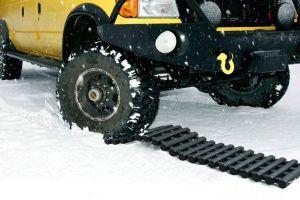 3 tapetes de tracción de emergencia para desatascar tu auto en la nieve