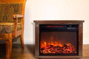 Las mejores 5 chimeneas portátiles y eléctricas para calentar tu casa este invierno