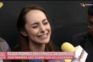 """""""¡Fui violada... saliendo de misa!"""": Actriz rompe en llanto y acusa a actor de """"Como dice el dicho"""" de Televisa"""