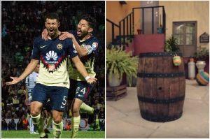 El Club América se tomó su foto oficial en la Vecindad del Chavo
