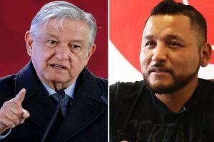 """""""El Mijis"""" pide a AMLO aumentar su seguridad; Tatiana Clouthier sugiere presionar al presidente en redes"""