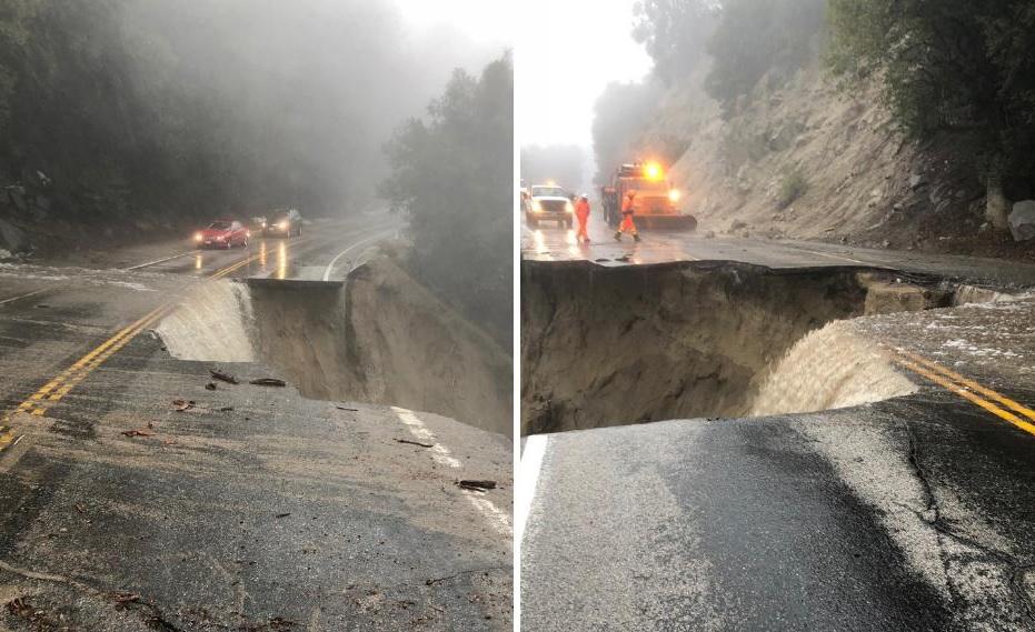 La carretera estatal 240 estará cerrada por dos meses por daños ocasionados por la lluvia