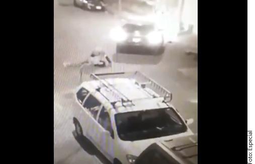 Imágenes del intento de secuestro en la Ciudad de México.
