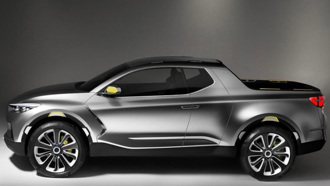 La nueva pickup se basará en el concepto del Santa Cruz 2015