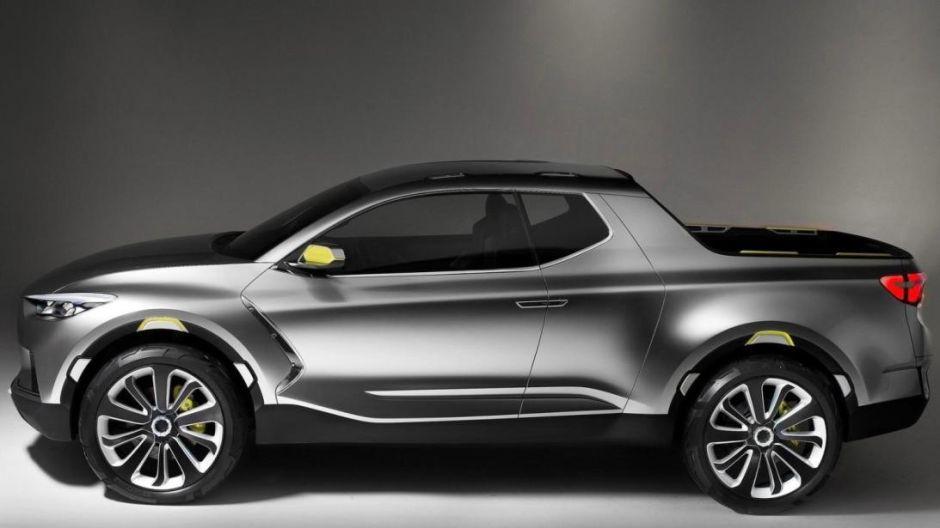 Hyundai revela detalles de su primera pickup truck