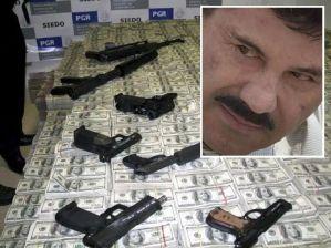 """Será una odisea buscar el dinero de """"El Chapo"""" para construir el muro"""