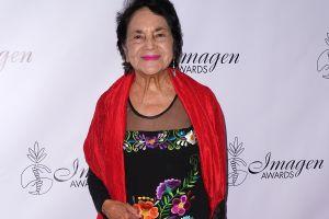 Dolores Huerta, activista de derechos civiles, es reconocida por su labor en Estados Unidos