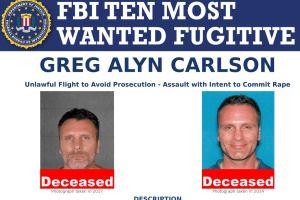 La dramática muerte de violador en lista de los 10 más buscados por FBI