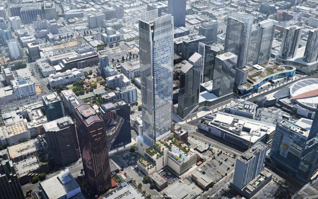 El edificio de 66 pisos está proyectado para iniciar su fase de construcción en el 2020