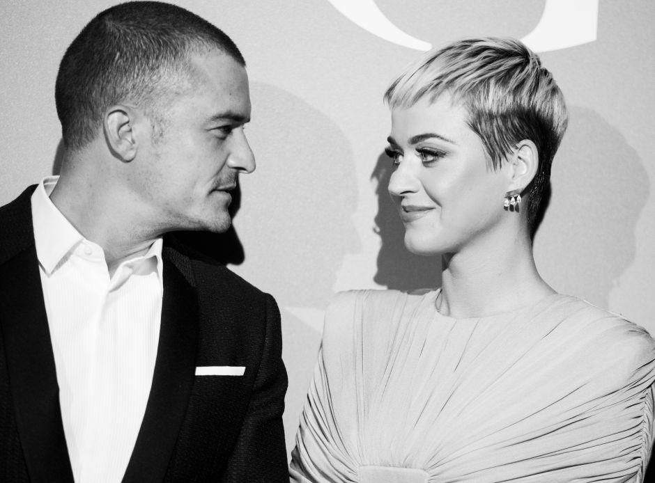 Orlando Bloom presume con orgullo la pancita de embarazo de Katy Perry