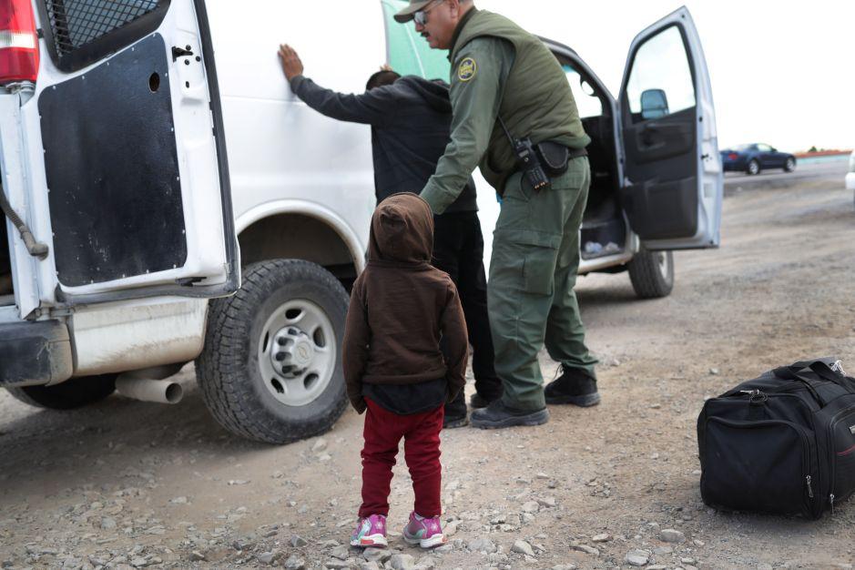 """Patrulla Fronteriza advierte de """"capturas masivas"""" de centroamericanos en la frontera"""