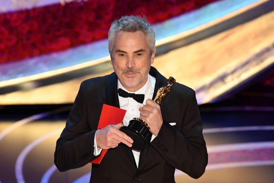 """Gobierno mexicano celebra los triunfos de """"Roma"""" en los Oscars y felicita a Alfonso Cuarón"""