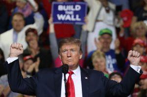Trump desafía al Congreso asegurando que construirá el muro de todas formas