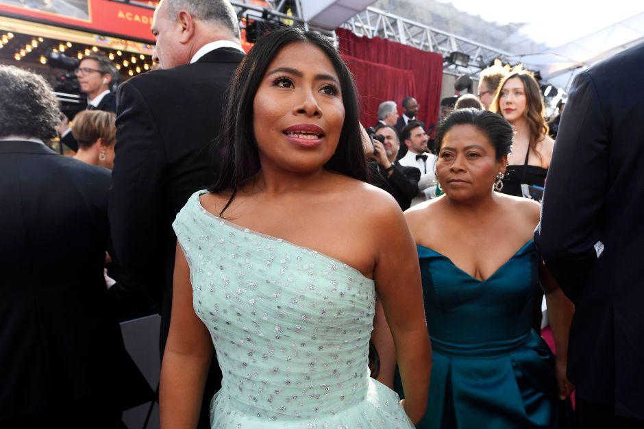 La mamá de Yalitza Aparicio se robó los corazones en los premios Óscar
