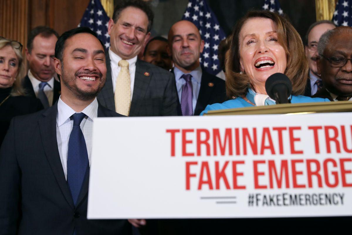 Cámara de Representantes aprueba resolución para anular la declaración de emergencia nacional de Trump