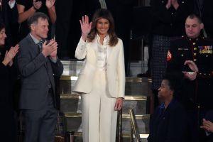 Melania: el discurso del Estado de la Unión y su invitado, un niño acosado por llevar el apellido Trump