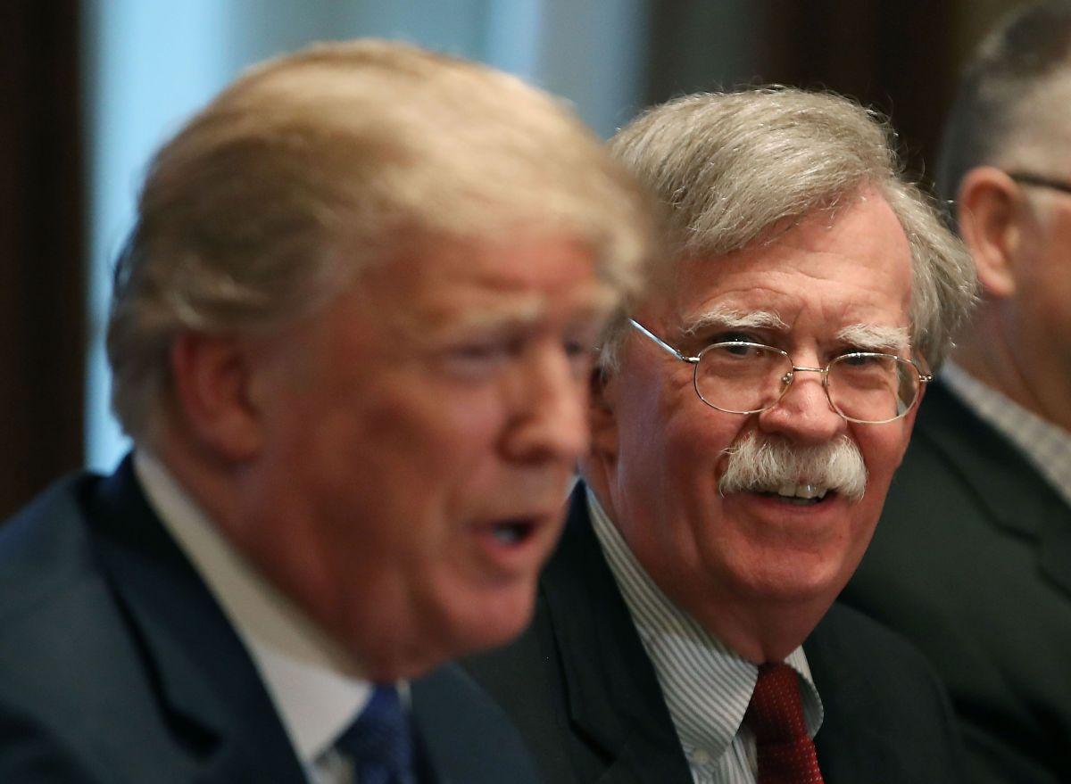 John Bolton fue asesor de Seguridad Nacional de Trump.