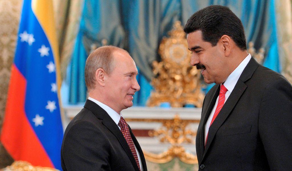 Los gobiernos de Putin y Maduro mantienen estrechos nexos