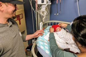 Celebran el mes del corazón con los más pequeñitos de los hospitales