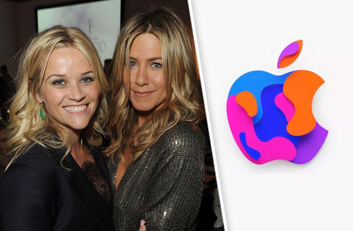 Reese Witherspoon y Jennifer Aniston estarían presente en un evento de Apple