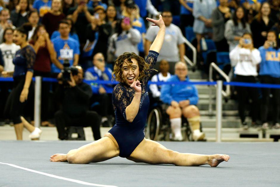 Katelyn Ohashi, estudiante de UCLA, deslumbra con otra perfecta rutina gimnástica