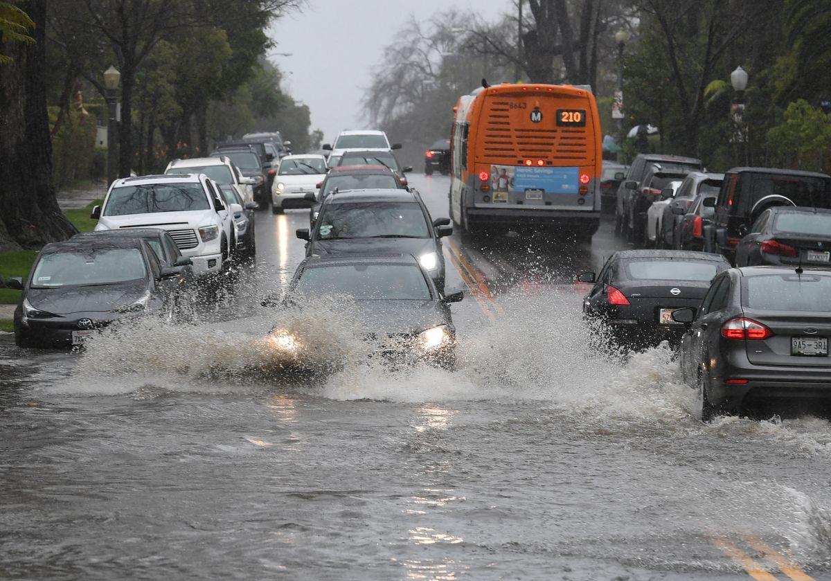 Más lluvia llegará al sur de California a partir de mañana
