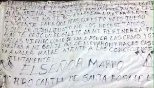 """""""El Marro"""" del cartel Santa Rosa de Lima se deslinda de amenazas a AMLO y acusa a Jalisco Nueva Generación, de """"El Mencho"""""""