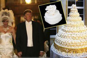 """Hispano compra """"pastel de bodas"""" de Trump y Melania congelado hace 14 años"""