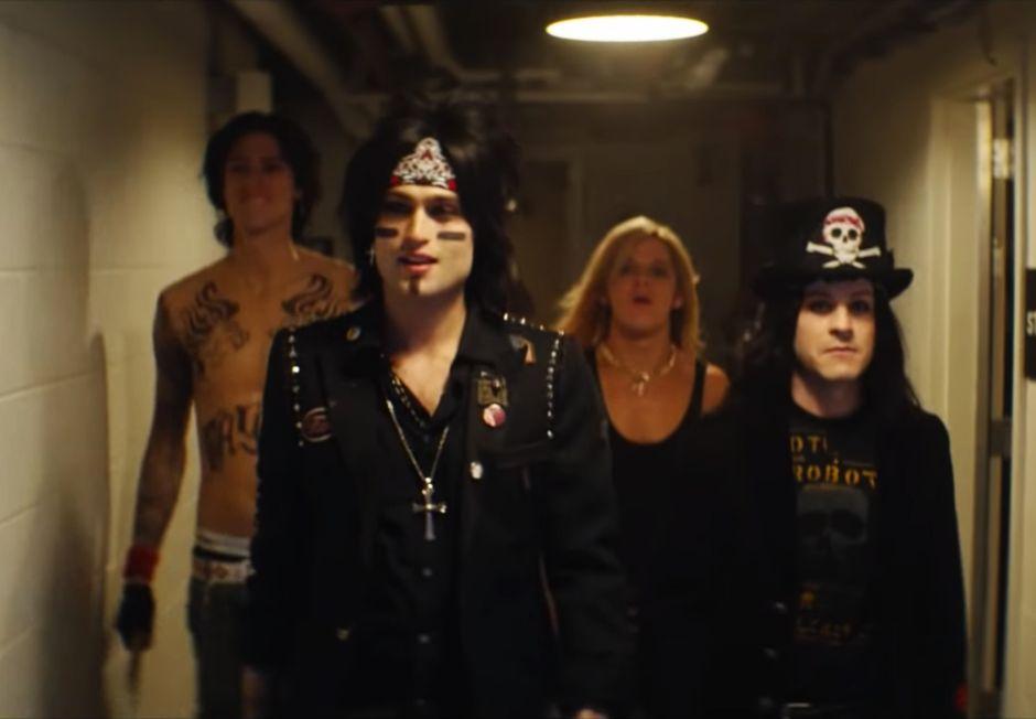 Una película sobre la banda Mötley Crüe llegará en marzo a Netflix