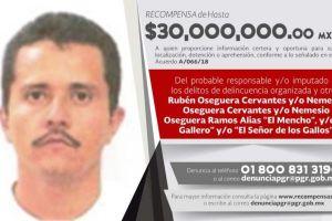 """Esto es lo que vale """"El Mencho"""" de cartel Jalisco Nueva Generación para el Gobierno de México"""