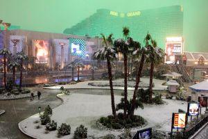 Una tormenta de nieve y lluvia cubrirá nuevamente a Las Vegas