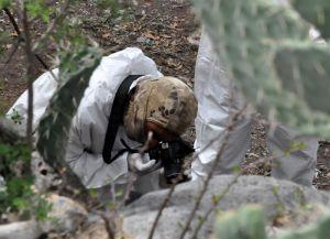 Fotos: Encuentran 42 cadáveres completamente vestidos en México cerca de la frontera
