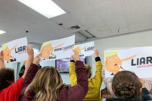 Inmigrantes en LA frustrados ante el discurso de Trump