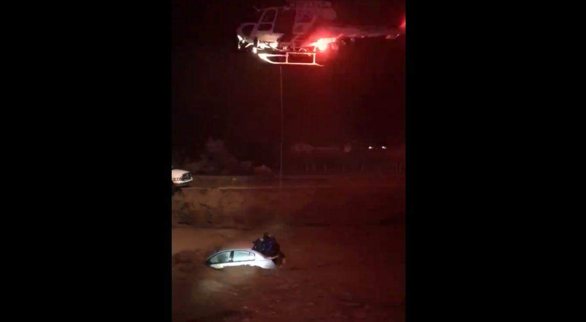 Equipo de rescate de la unidad de Aviación SBCSD.
