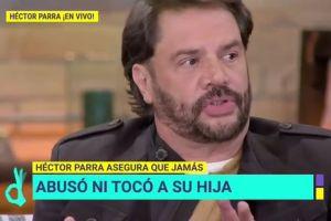 Acusan al actor Héctor Parra de abusar de su propia hija