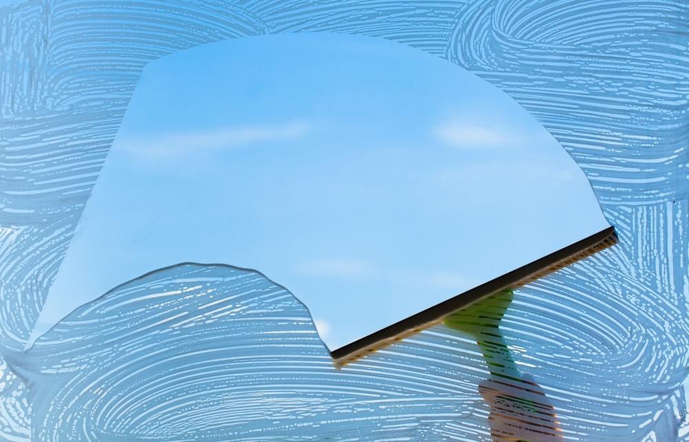 Espejo raspador JICHUIO Pr/áctico limpiacristales de Vidrio para Ventanas limpiaparabrisas de autom/óviles Limpiador de jab/ón Ducha para el hogar ba/ño Cuchilla TPR Suave