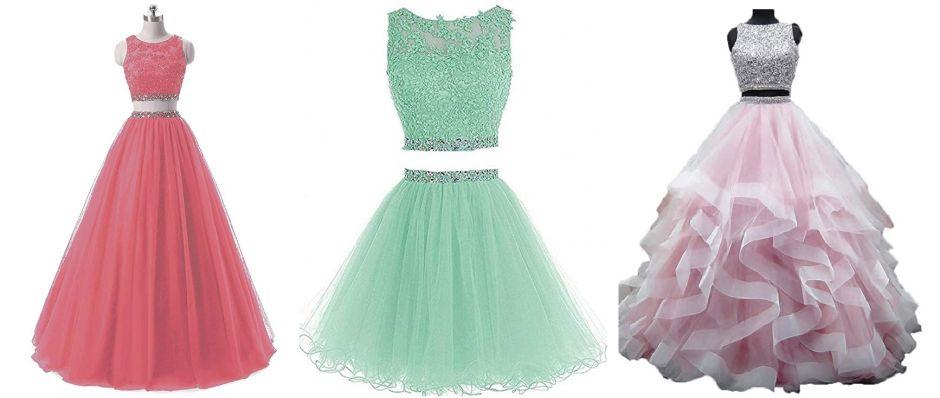 7 vestidos de dos piezas para quinceañeras para sorprender a todos los invitados