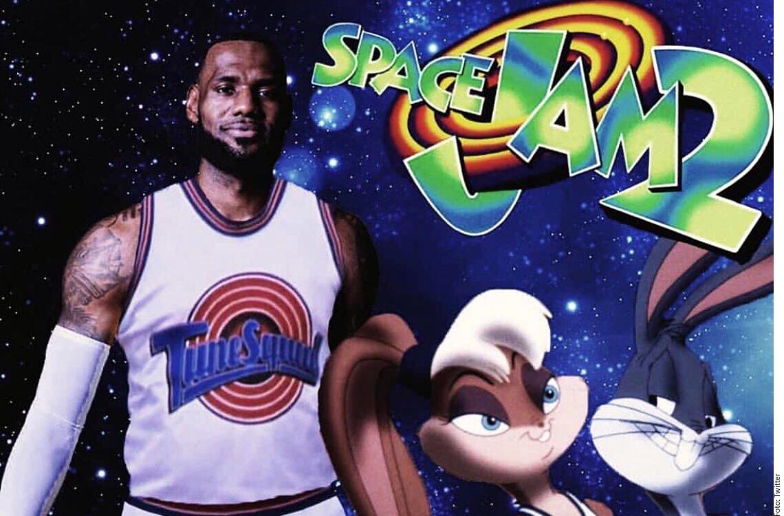 Anuncian el estreno de Space Jam 2 protagonizada por LeBron James