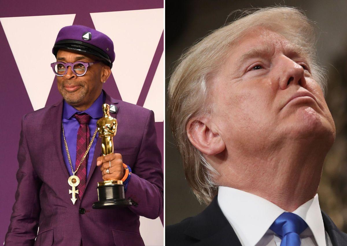"""Spike Lee no mencionó a Donald Trump, pero pidió decidir entre """"amor y odio"""" en 2020."""