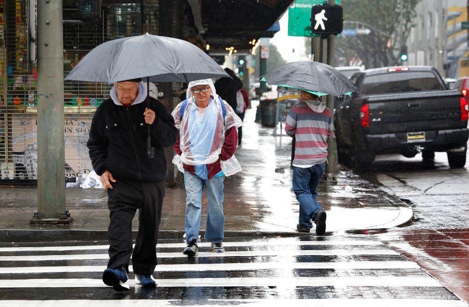 Los Ángeles da la bienvenida al solsticio de invierno con clima húmedo en el fin de semana