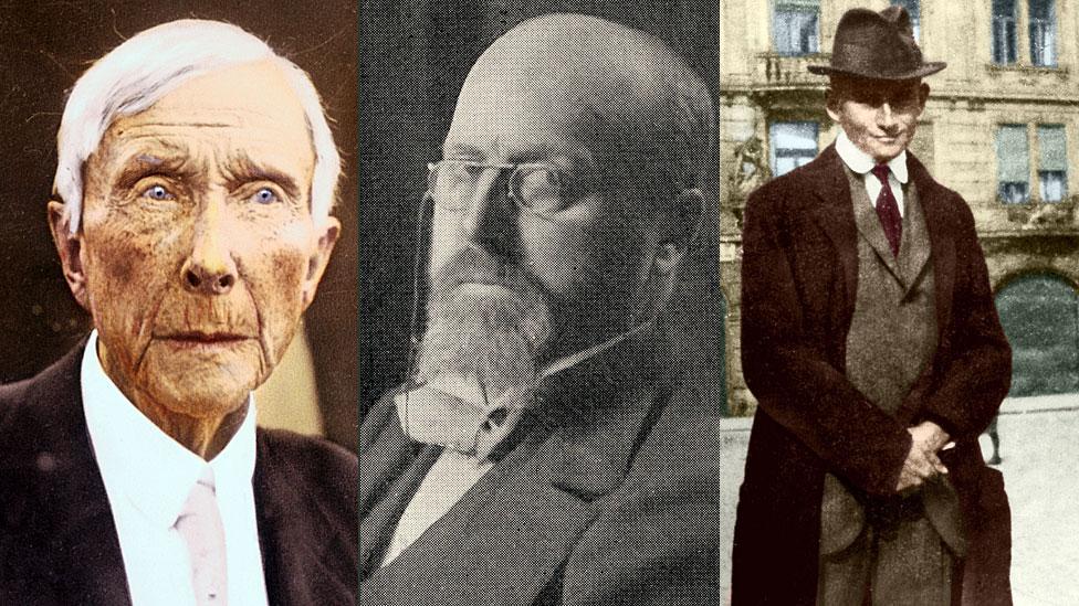 """Quién era Horace Fletcher, el """"gran masticador"""" que enseñó a Edison, Kafka y Rockefeller a sentirse mejor"""