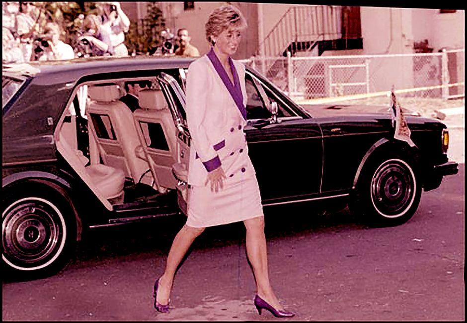 El Rolls-Royce que transportó a la Princesa Diana en su gira por los Estados Unidos en 1990 ya está en venta