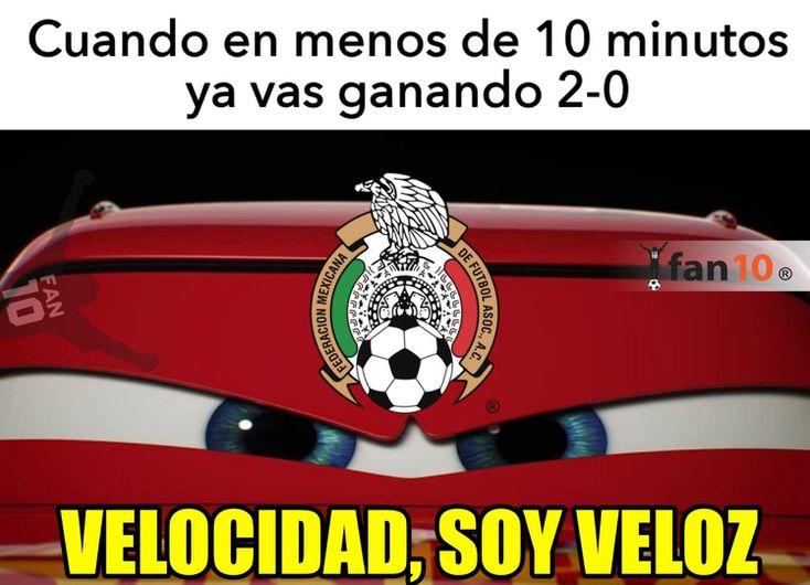 Los memes más divertidos del triunfo de México sobre Paraguay