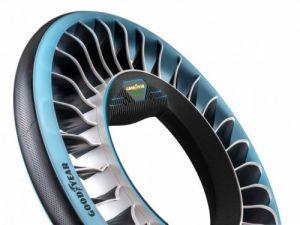 Goodyear diseña neumáticos voladores