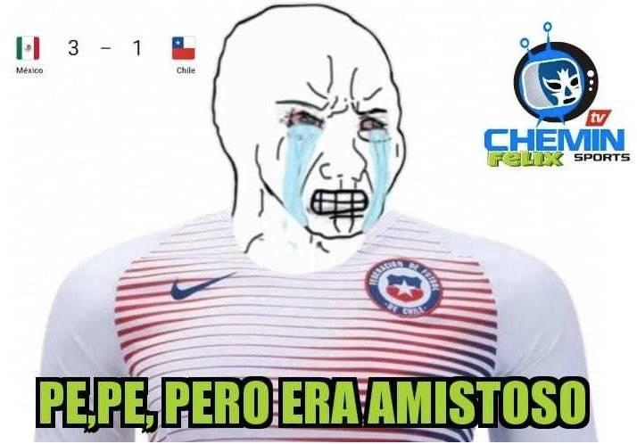 Los mejores memes del triunfo de México sobre Chile en el debut de Martino