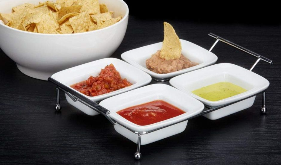 Las 3 mejores bandejas de comida para servir tus botanas en casa cuando llega la visita